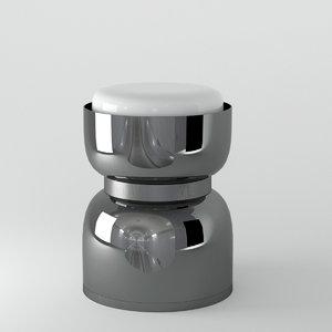 3D model contardi lighting clessidra kronos