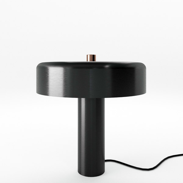 punk table lamp 3D model