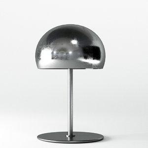 3D italia table lamp model