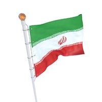 iran flag 3D