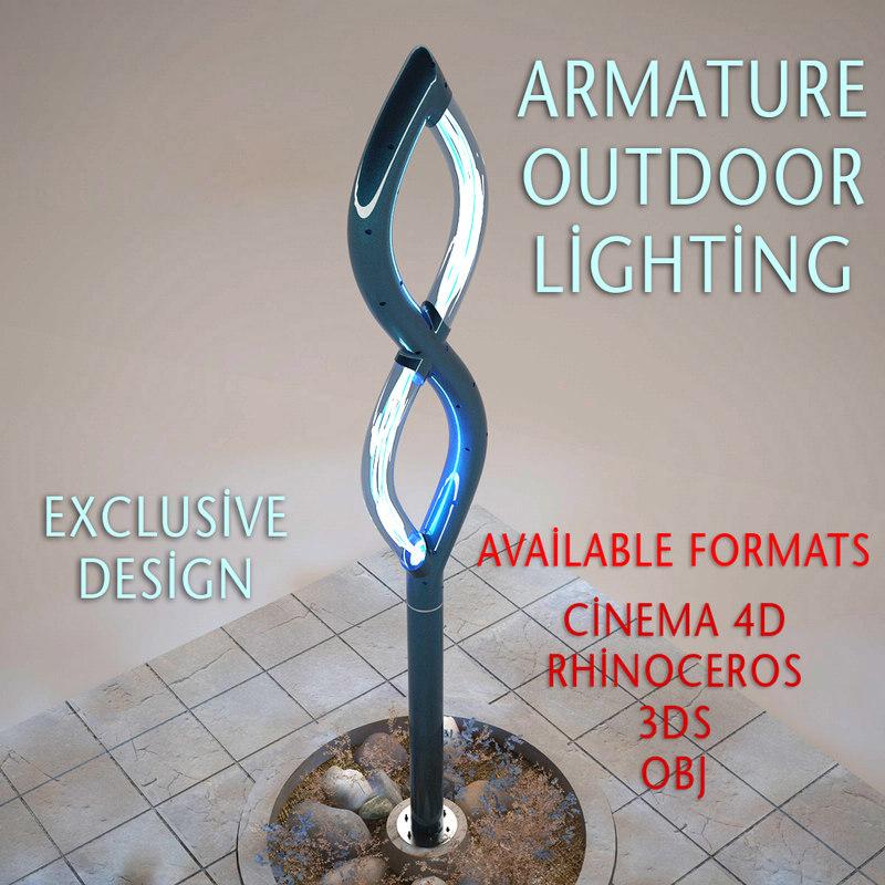 3D outdoor lighting