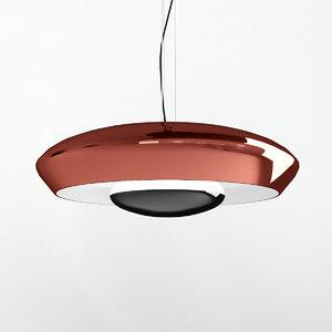 corona frank suspension light 3D model