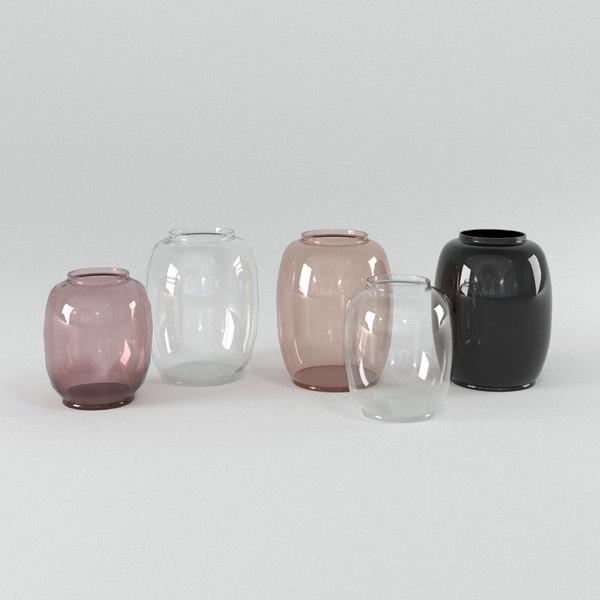 3D form 140 vase
