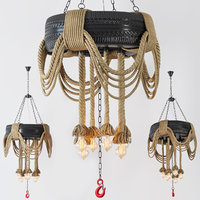 chandelier gomma 3D