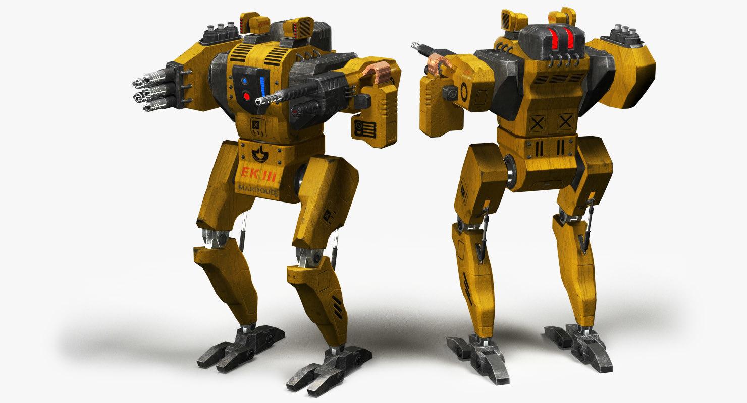 3D model ek iii