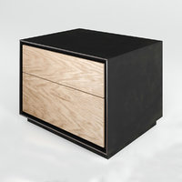3D rialto night bedside table