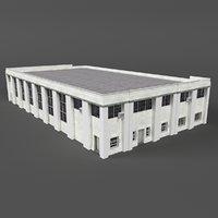 warehouse building 11 3D model