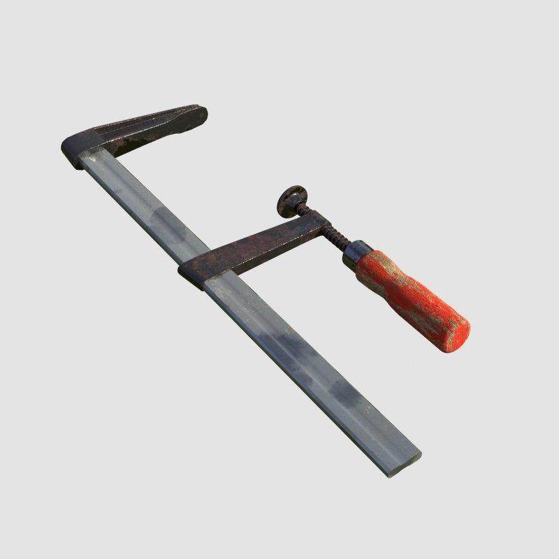3D clamp arnold renderer