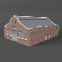 3D warehouse building games model