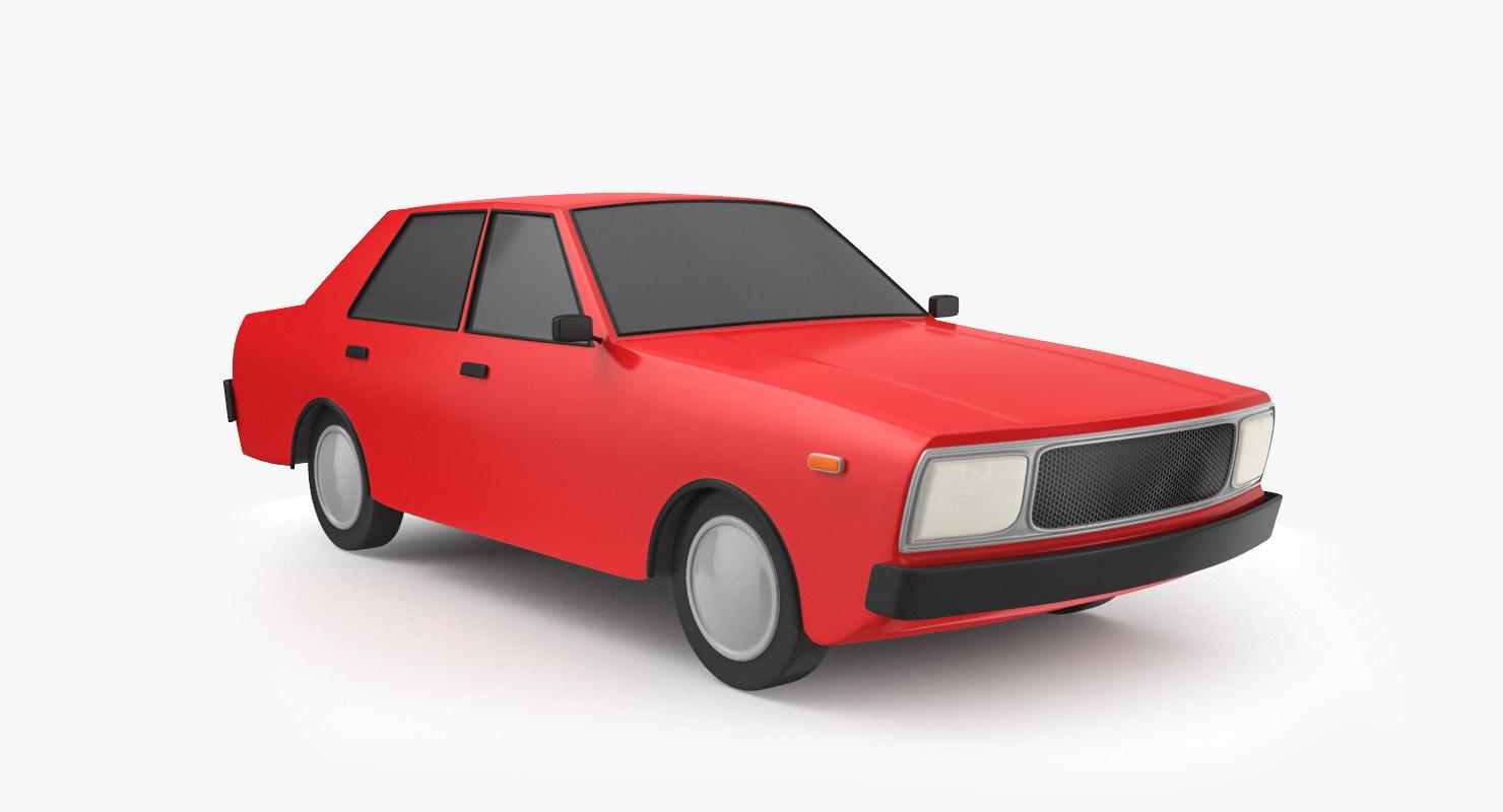 cartoon car 3D