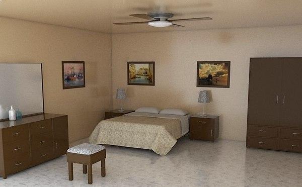 furnished room model