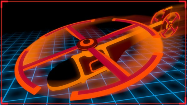 tron helicopter model