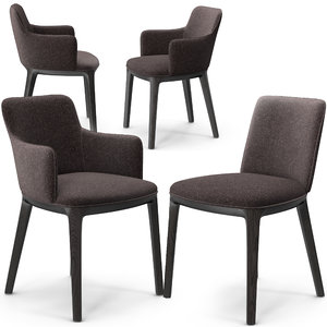 potocco candy chairs 3D model
