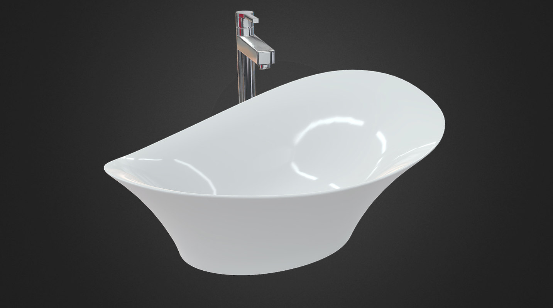 3D model washbasin engine