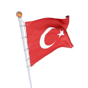 turkey flag model