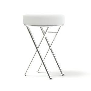 simple salon stool 3D model