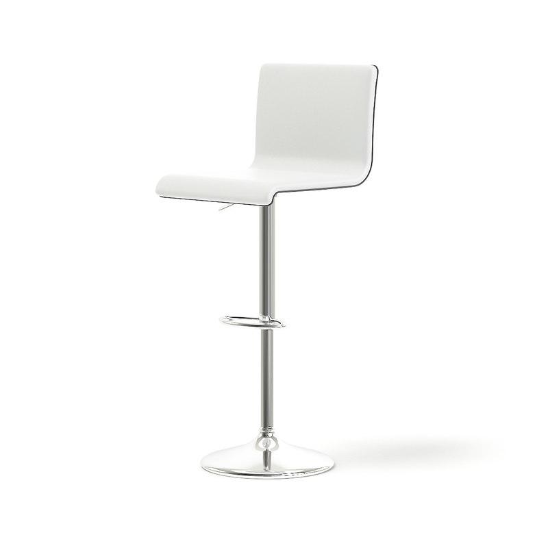 3D model white salon chair