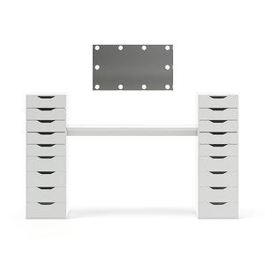salon mirror cabinets model