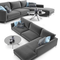 Berto Time Break Sectional Sofa