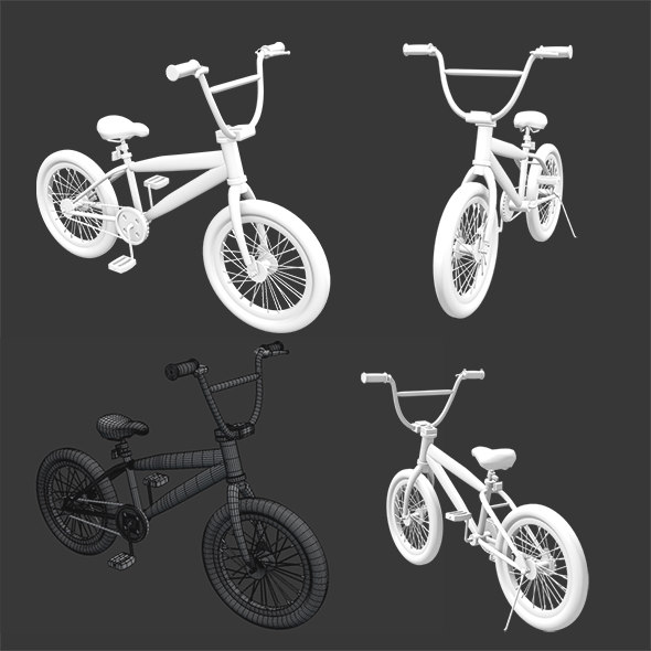 3D cycle bicycle