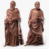 Saint Paul and Peter Statues