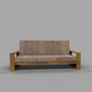 wooden sofa model