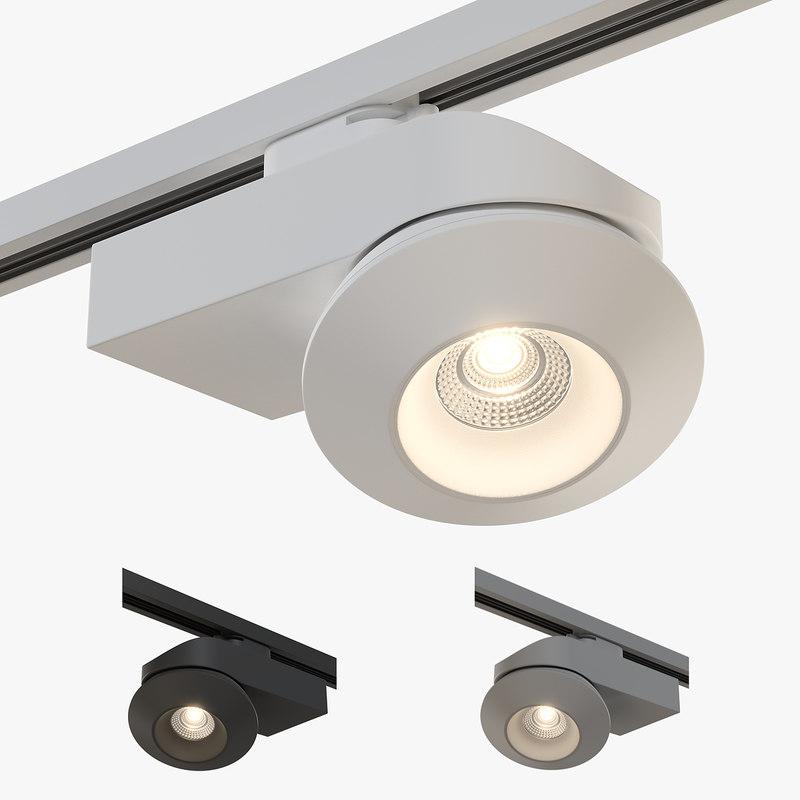 05121x orbe lightstar track light 3D model