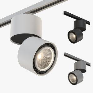 21383x forte lightstar track light 3D model