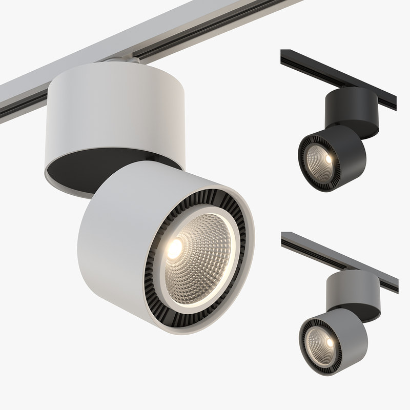 21383x forte lightstar track light 3D model