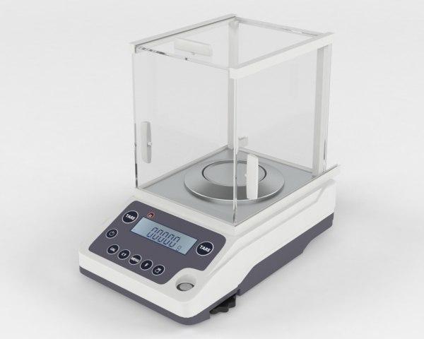 analytical balance bsm-220 4 3D