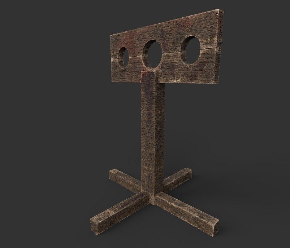3D model medieval stock