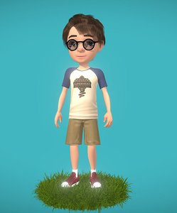 genius boy 3D