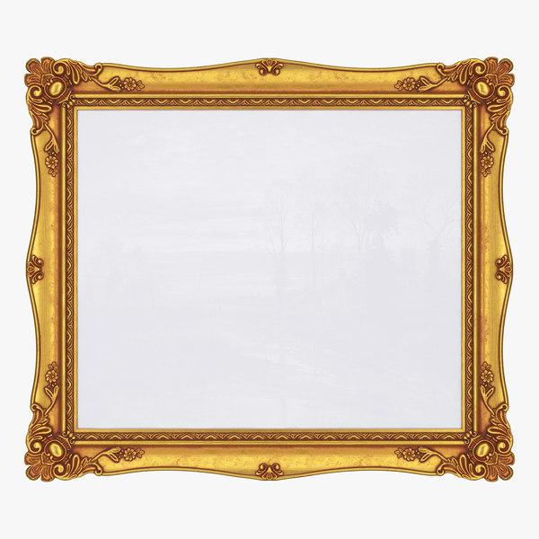 3D model frame picture v7
