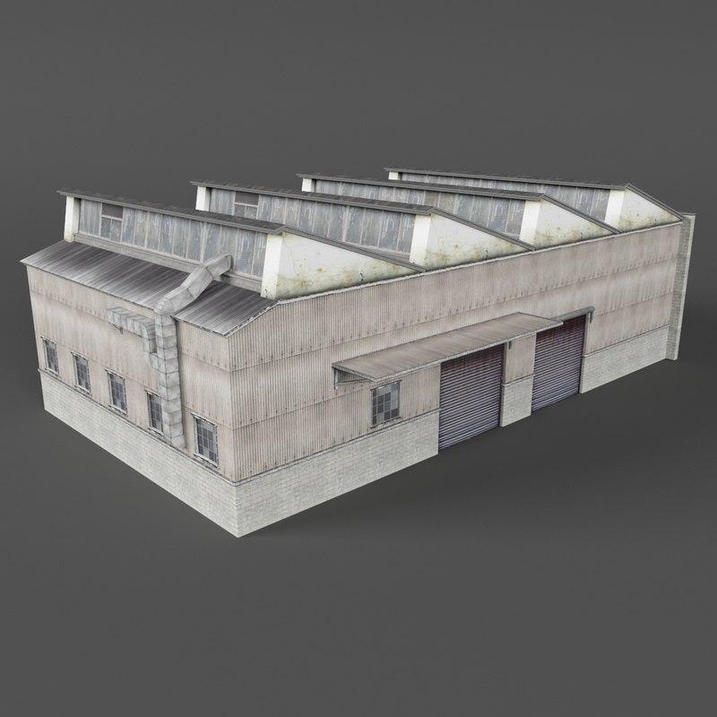 warehouse building games 3D