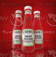 3D ketchup