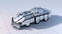Sci-fi Armoured Fighting Vehicle