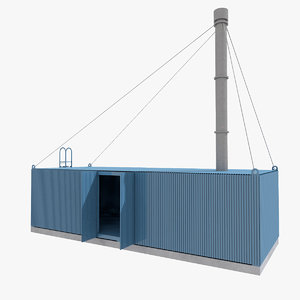 3D incinerator contain