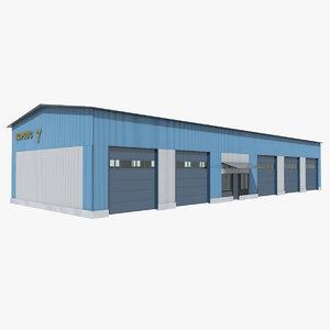 garage building model