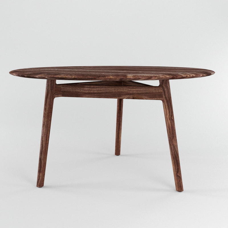 solo table 3D model