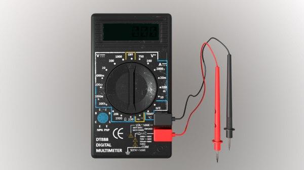 3D amp amperage model
