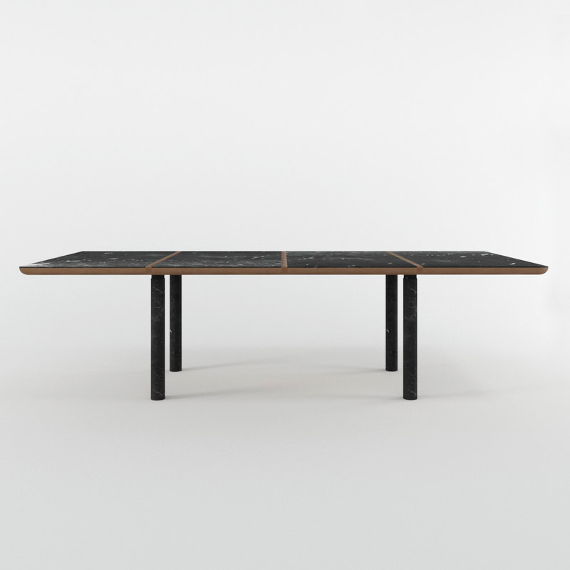 108 marlon rectangular table model