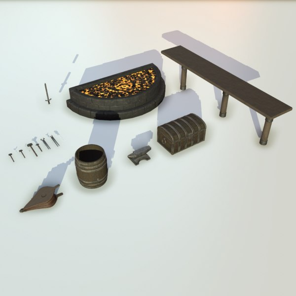 pack forge 3D