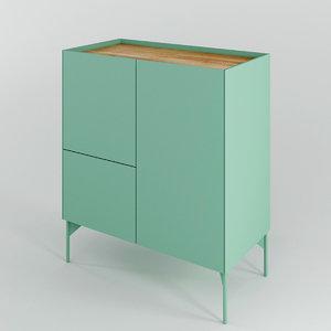 framework cabinet 3D model
