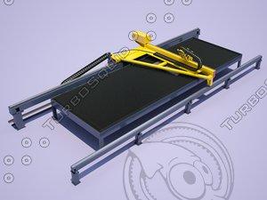 thermal cutting machine 3D