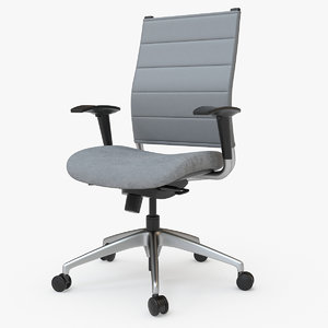 3D wit chair highback sitonit model
