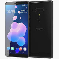 3D realistic htc u12 ceramic model