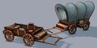Medieval CartV01