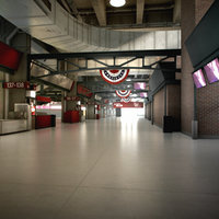 Baseball Stadium Concourse