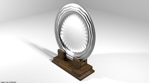 plate trophy 3D model