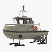 3D boat stands